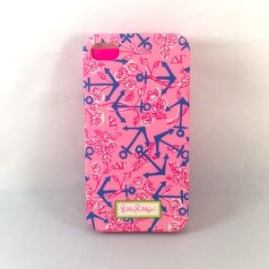 Lilly Pulitzer Delta Gamma phone case crafting